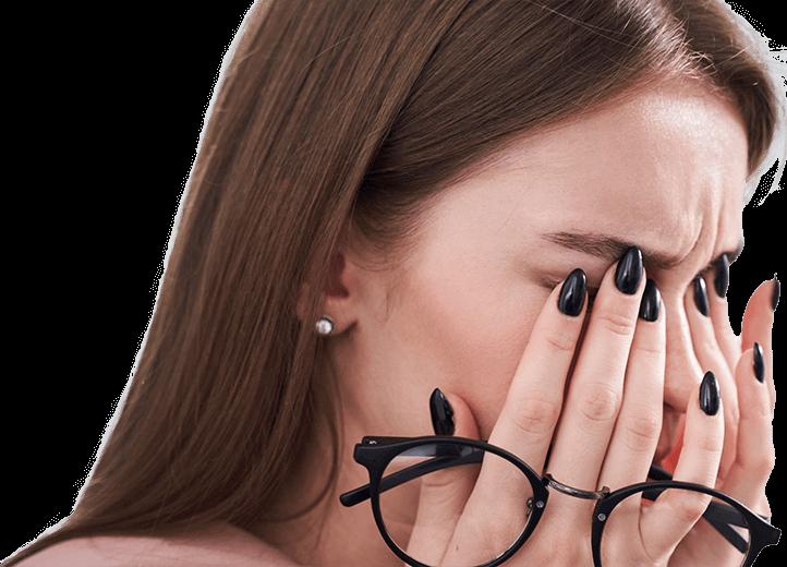 Rückfälle bei einer Blepharitis